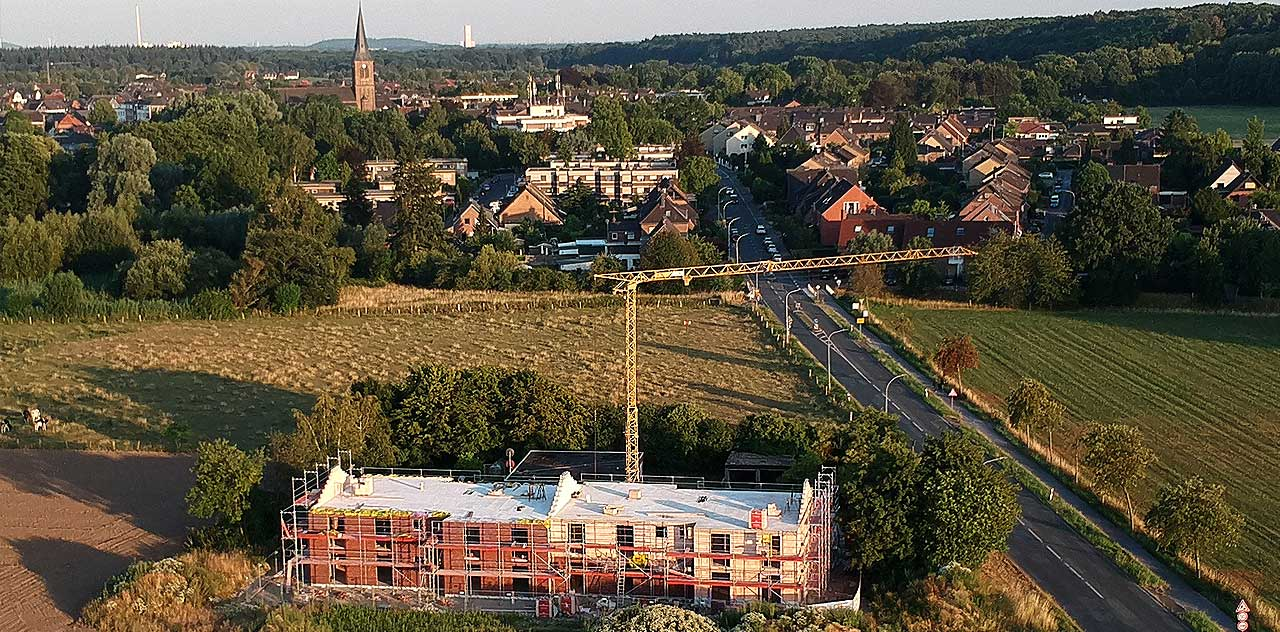 Wohnungsbau Gemeinde Alpen